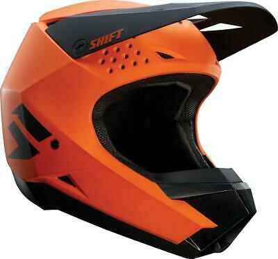 NEW SHIFT WHIT3 Label Matte Orange/Black Helmet from Moto Heaven