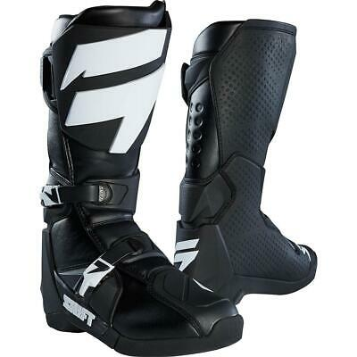 NEW SHIFT 2018 WHIT3 Label Black Boots from Moto Heaven