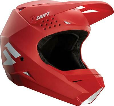 NEW SHIFT WHIT3 Label Matte Red Helmet from Moto Heaven