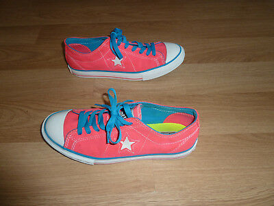 Converse One Star Pink Low-top Women Shoes Sneakers Size 9.5