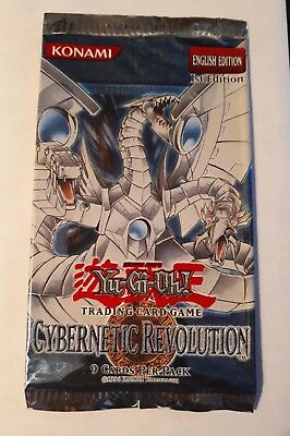 Yugioh! Cybernetic Revolution - 1st Ed - Empty Pack - No Cards
