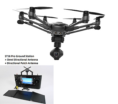 YUNEEC Typhoon H480 4K UHD Hexacopter and ST16 Pro Ground Station
