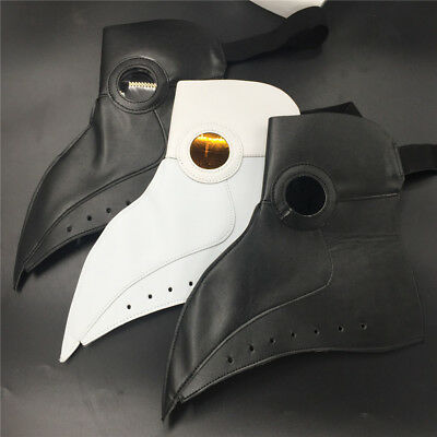 NEW Realistic Costume Prop Halloween Plague doctor mask Bird mouth slight defect