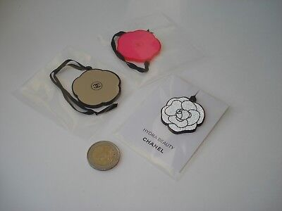 Chanel  set of 3 charms plastic flower  limited edition charms  new