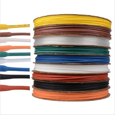 Heat Shrink Car Electrical 0.6mm - 80mm 2:1 Various Colors Tubing Tube Sleeving