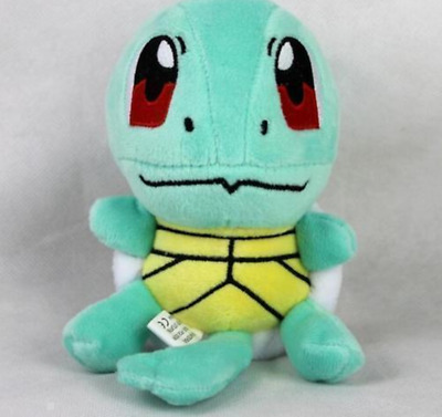 """New SQUIRTLE Lovely Stuffed Soft Plush Toys Doll figure Xmas Gift Pokemon 6.5"""""""