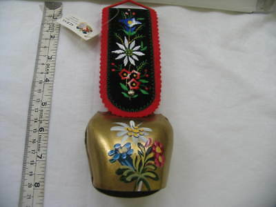 Vintage Decorative Cow Bell (9cm high bell)