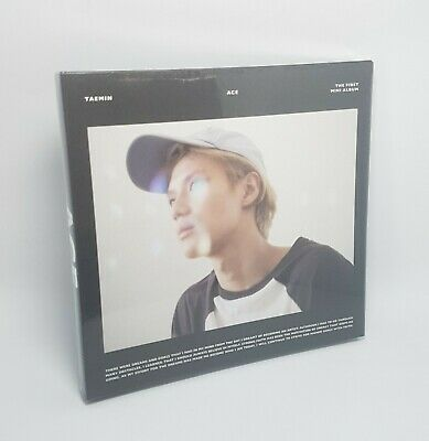 K- POP SHINEE TAEMIN 1st Mini Album [ACE] White Ver CD+Booklet+Photocard Sealed
