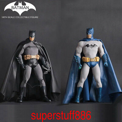 DC Comics Batman Action 1/6 Scale Figure Toys Crazy Toys Blue&Black Boxed PVC