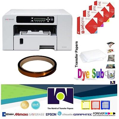 Sawgrass Virtuoso SG400 HD Sublimation System + Free SubliPaper & Transfer Tape