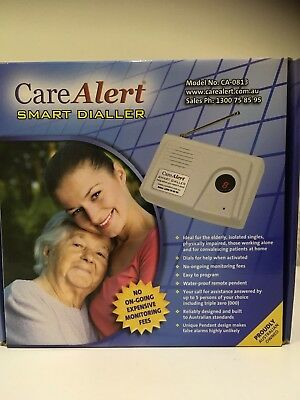 Care Alert Smart Dialler Model No. CA- 0813 as new  in the box