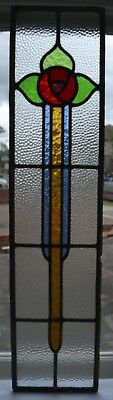 British leaded light stained glass window panel. R794a. WORLDWIDE DELIVERY!!!
