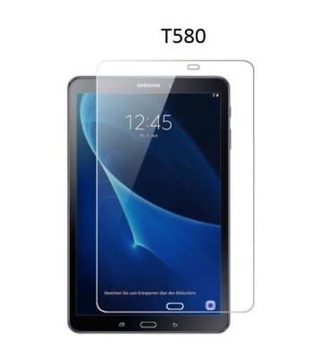 """2x CLEAR Screen Protector Covers for Samsung Galaxy Tab A 10.1"""" SM-T580 T585"""