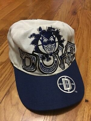 77fe00d848c RARE VINTAGE DUKE Blue Devils Hat All Over Print -  21.00
