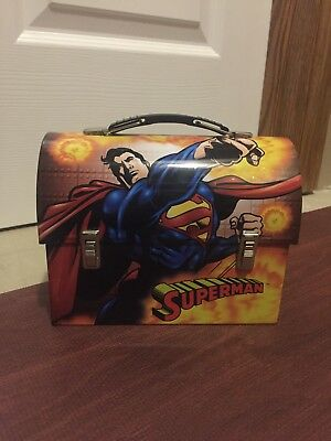 Superman Tin Lunchbox - great condition, only used as decoration