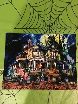 Days Dreams Halloween Spook House Art - signed 2011