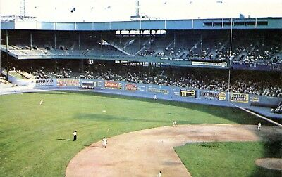 New York Giants Polo Grounds Baseball Stadium Postcard George Tinker Issue