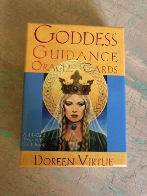 Goddess Guidance Oracle Cards Doreen Virtue 44 Card Deck With Book Mystic