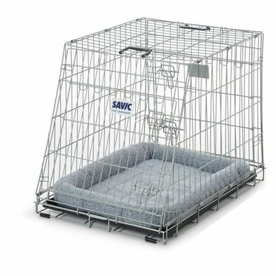 Savic Durable Metal Wire Residence Dog Car Crate 91cm FREE CUSHION FREE RETURNS