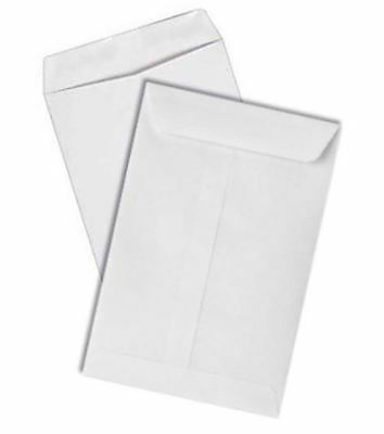 Econo Catalog Envelopes 24lb White Wove 7-1/2-x-10-1/2-500-pk - Shipping envelop