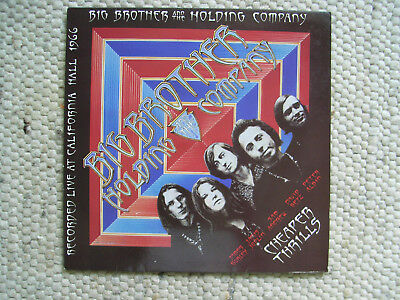 Big Brother & The Holding Company: Cheaper Thrills, Line Records 1984, weiß