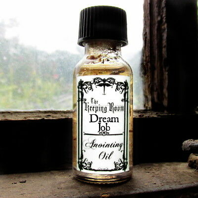 Dream Job Oil Employment Prosperity Earth Element Witchcraft Supplies Occult