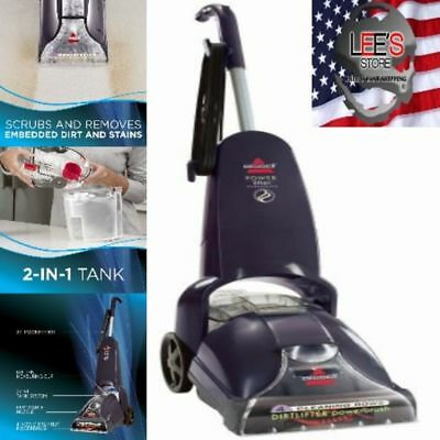 Heat Steam Carpet Cleaner Upright Shampooer Pet Home Deep Clean Powerful Bissell