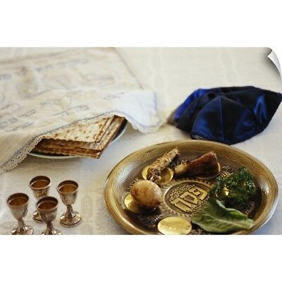 Wall Decal entitled Passover Seder Plate
