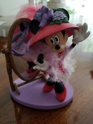 "DISNEY MINNIE MOUSE HATS OVER HEELS HAMILTON COLLECTION "" Fashionably Fabulous """