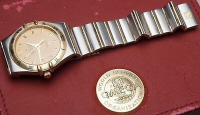 OMEGA Constellation AUTOMATIC Chronometer Gold / Stahl 1202.10.00