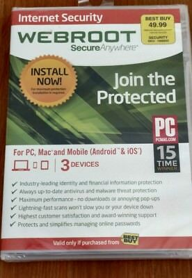 Webroot Secure Anywhere Internet Security