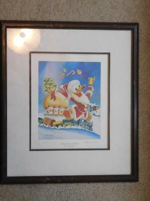 Gifts For Shacktown by Carl Barks Donald Duck Painting 251/595 Limited Run