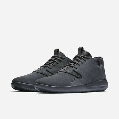 20330521edf Jordan Eclipse Lea Shoes Anthracite (Gray) Suede Mens 10 New 724368-005 Nike