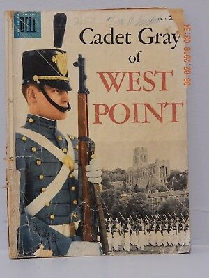 Cadet Gray Of West Point (Dell 1958) #1 1st Print