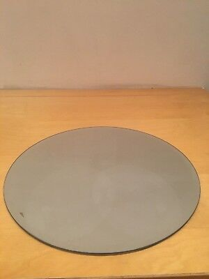 12INCH - 30CM Round Mirror Plate by Olore Home - £6.99 | PicClick UK