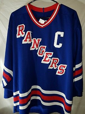d102830fb6e ... coupon code for 1993 94 mark messier new york rangers ccm vintage jersey  large sewn stanley