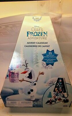 Disney Frozen Olaf's Adventure Advent Calendar Set