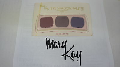 🍀 RARE NEW VINTAGE ‡ Mary Kay Eye Shadow Trio Palette Great Fashion Plums 0477