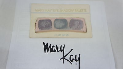 🍀 RARE VINTAGE ‡ Mary Kay Eye Shadow Trio Palette Cool Plum Gray Collection 498