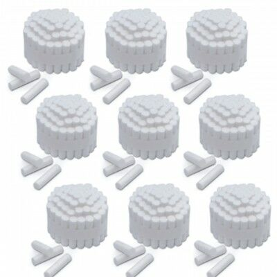 "Dental Cotton Rolls Size #2 Medium Nonsterile, 3/8"" 2000/Case"