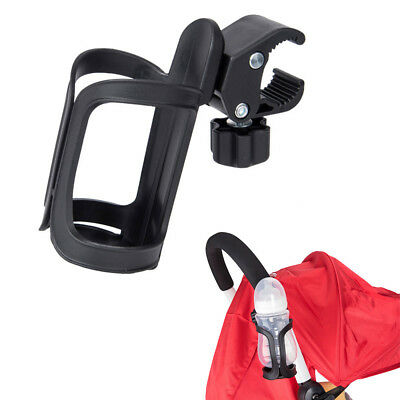 Infant Stroller Cup Holder Baby Carriage Cart 360 Rotatable Water Bottle Holder