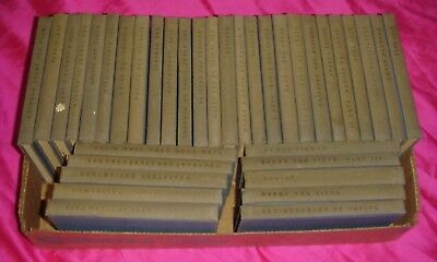 THE YALE SHAKESPEARE William Golden Age Lot of 36 Volumes Of The 40 Volume Set