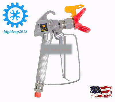NEW 3600 PSI Spray Gun w/ Tip & Guard Airless Paint  For  Sprayer FREE US