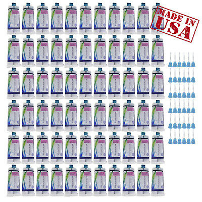 up to 66 x 50ml Bite Registration Material cartridge Dental Silicone Impression