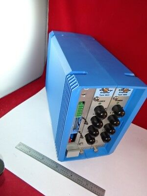 KISTLER SWISS WIM CHARGE AMPLIFIER 5824 for ACCELEROMETER PRESSURE ETC AS IS &87