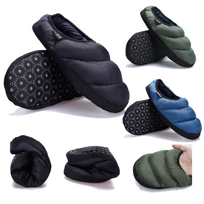 90a7c81d53869 MEN WINTER WARM Indoor Slippers Lightweight Closed Toe Washable Soft House  Shoes