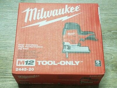 NEW Genuine Milwaukee M12 12v Cordless High Performance Jig Saw 2445