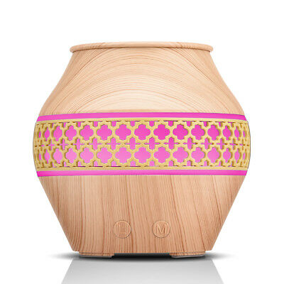 Portable Home Decor Flower Hollowed-up Aromatherapy Essential Oil Diffuser 120ml