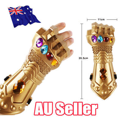 New Thanos Infinity Gauntlet Glove Cosplay Infinity War The Avenge Prop Gift ODD