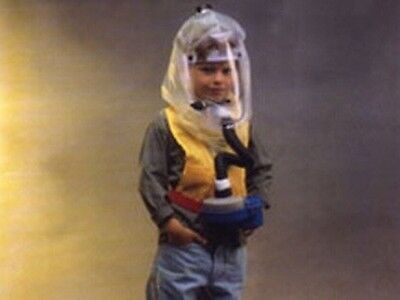 Kids Gas Mask And Protective Hood For Children (Bardas)